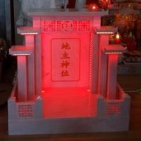ศาลเจ้าที่จีน 27 นิ้ว 5 หลังคา หินขาวกรีก