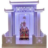 ศาลเจ้าที่จีน 27 นิ้ว 3 หลังคา หินขาวกรีก