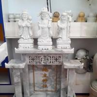 ศาลเจ้าที่จีน 27 นิ้ว 3 หลังคา หินเทาลายเมฆ