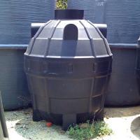 ถังบำบัดน้ำเสียพลาสติก PE รุ่น DCPE - 850