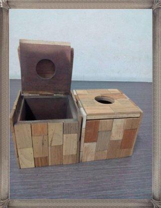 Tissue Box Wood Tech Future