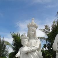 พระแม่มารีย์อุ้มพระเยซูต์ สูง 1.50 เมตร