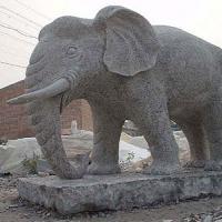 ช้าง แกะสลักหินอ่อน