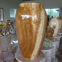 แจกันหินอ่อนใหญ่ ขนาดสูง 60x35 ซม.