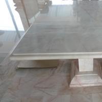 โต๊ะหินอ่อน ทรงสี่เหลี่ยม ขนาด 100x115x80 ซม.