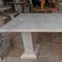 โต๊ะหินอ่อน สี่เหลี่ยม ขนาด 100x170x80 ซม.