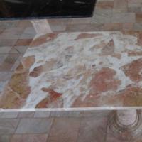 โต๊ะหินอ่อน สี่เหลี่ยม ขนาด 60x120x70 ซม.