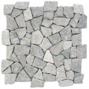 หินโมเสคผิวเรียบ Light Grey