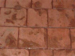 พื้นคอนกรีตพิมพ์ลาย (London Cobble Stone)