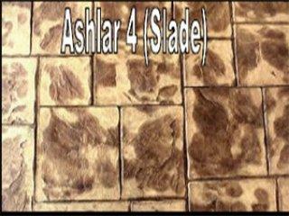พื้นคอนกรีตพิมพ์ลาย (Ashlar 4 (Slade))
