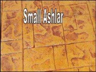 พื้นคอนกรีตพิมพ์ลาย (Small Ashlar)