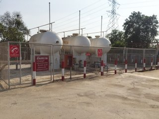 รับติตตั้งระบบท่อโรงบรรจุแก๊ส LPG