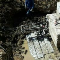 บริการตัดคอนกรีตด้วย Wire saw