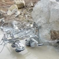 ตัด เบ่ง หินธรรมชาติด้วย Wiresaw