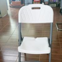 เก้าอี้พับหน้าพลาสติก