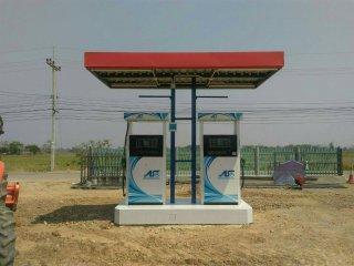 จัดหาทำเลในการทำปั๊มน้ำมันและปั๊มแก๊ส