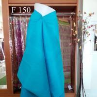 ผ้าเปลือกไหมบ้าน ยาว 4 ม. สีฟ้า ทอมือ