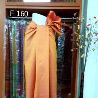 ผ้าไหมบ้าน ลายราชวัฏ ย้อมสีธรรมชาติ สีทองโบราณ แก่นขนุน