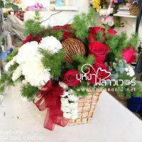 รับส่งกระเช้าดอกไม้