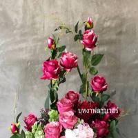 รับจัดดอกไม้ประดิษฐ์