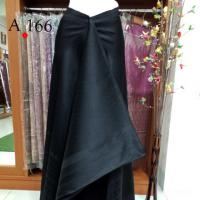 ผ้าไหมทอยก ลายเทพพนมใหญ่ สีดำ +ผ้าพื้น ตัดได้เต็มชุด