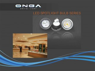 LED Spotlight Bulb Series