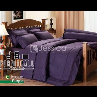 ชุดผ้าปูที่นอน Jessica รุ่น J PURPLE