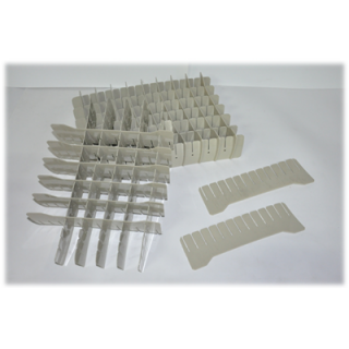 โรงงานผลิตตะแกรงพลาสติกใส่หลอดทดลอง