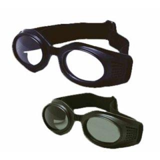 แว่นตากันฝุ่นเลนส์ ใส-ดำ NS-GG-03