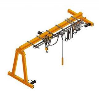 เครนไฟฟ้า ชนิด Semi Gantry Crane