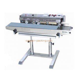 เครื่องซีลสายพานมีเครื่องพิมพ์ในตัว FRD 1000LD