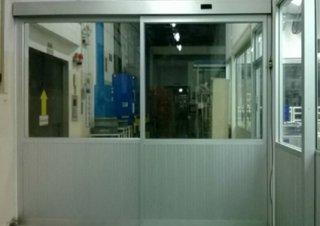 ประตูบานเลื่อนกระจก AUTO DOOR