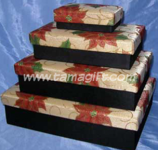 ชุดกล่องผ้าไหม Set