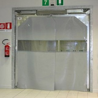 ประตู High Speed Door แบบบานสวิง