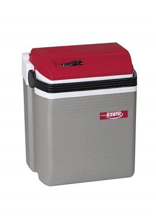 ตู้เย็นติดรถยนต์ รุ่น Ezetil E28 12V silver red