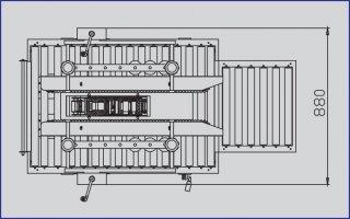 เครื่องปิดเทปกาวโอพีพี รุ่น YS 501D