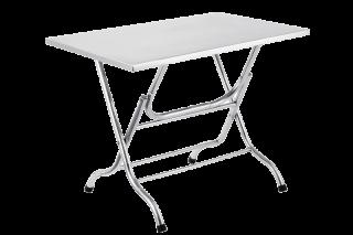โต๊ะสแตนเลสหน้าสี่เหลี่ยม