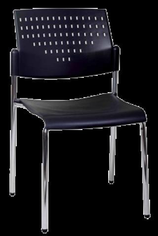 เก้าอี้โพลี ขาชุปโครเมี่ยม รุ่น VC-700