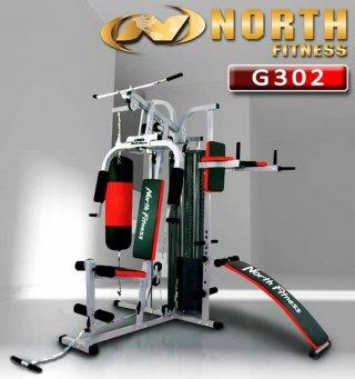 ชุดโฮมยิม North Fitness รุ่น G302