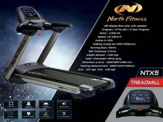 ลู่วิ่งไฟฟ้า North Fitness TREADMILL รุ่น NTX5