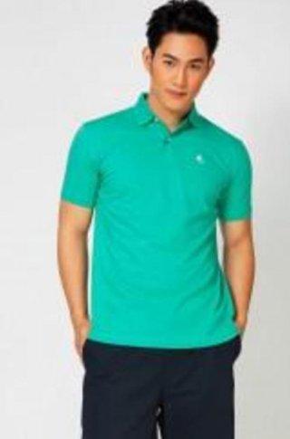 แบบเสื้อโปโลสีเขียวน้ำทะเล