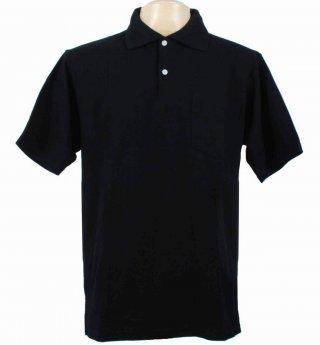 เสื้อโปโลสีดำล้วน