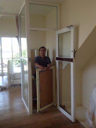 ลิฟท์บ้านครึ่งตัว ขนย้ายสิ่งของ