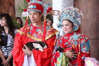 รับจัดงานแต่งงานพิธีจีน