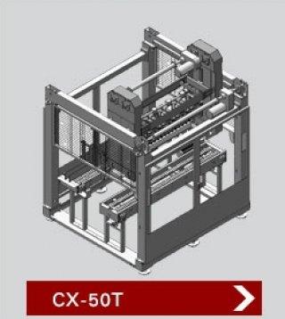 เครื่องบรรจุสินค้าลงกล่อง รุ่น CX 50T