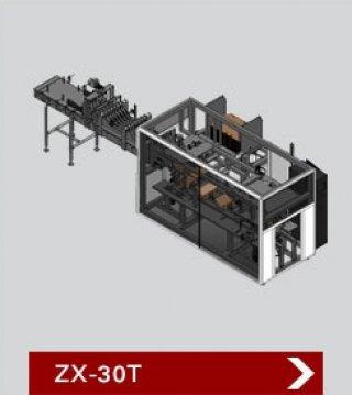 เครื่องบรรจุสินค้าลงกล่อง รุ่น ZX 30T