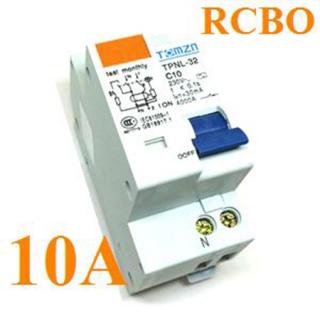 เบรกเกอร์ RCBO 10A