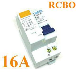 เบรกเกอร์ RCBO 16A