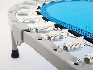 มินิแทรมโพลีน รุ่น Twins สีฟ้า