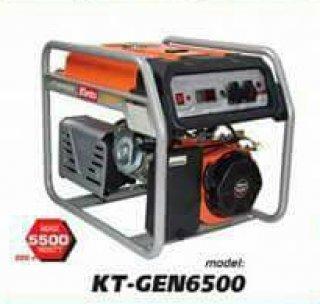 เครื่องยนต์ปั่นไฟเบ็นซิน รุ่น KT GEN 6500